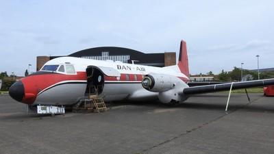 G-BEJD - Hawker Siddeley HS-748 - Emerald Airways