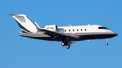 VP-CIC - Bombardier CL-600-2B16 Challenger 601-3A - TAG Aviation