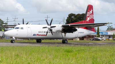 A picture of HP1606PST - Fokker 50 - Air Panama - © Alexander Pitti