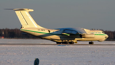7T-WIQ - Ilyushin IL-78T - Algeria - Air Force