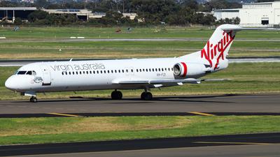 A picture of VHFZI - Fokker 100 - Virgin Australia - © Chow Kin Hei - AHKGAP