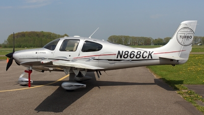 N868CK - Cirrus SR22-GTS Turbo - Private