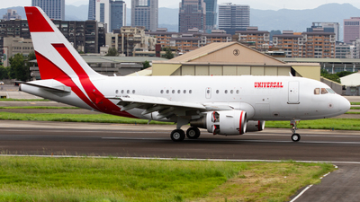 9H-UEC - Airbus A318-112(CJ) Elite - Private