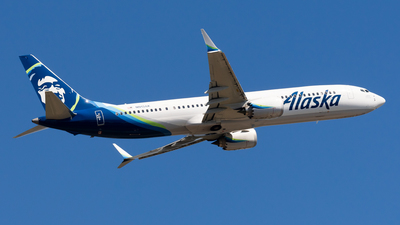 A picture of N913AK - Boeing 737 MAX 9 - Alaska Airlines - © Nick Sheeder