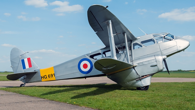 G-AIYR - De Havilland DH-89A Dragon Rapide - Classic Wings