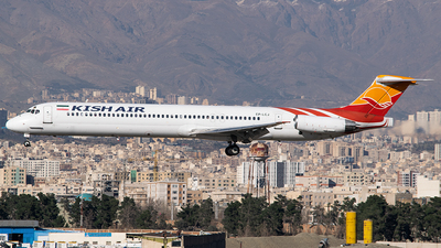 A picture of EPLCJ - McDonnell Douglas MD82 - Kish Air - © Mahyar Malakooti
