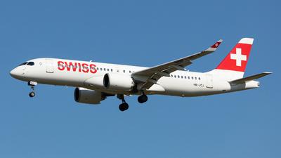 HB-JCJ - Bombardier CSeries CS300 - Swiss