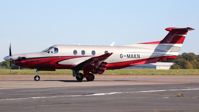 G-MAKN - Pilatus PC-12/47E - Private