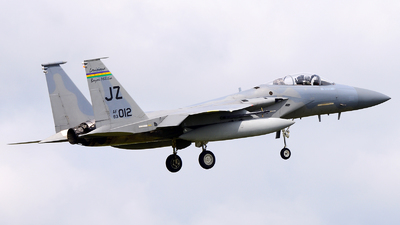 83-0012 - McDonnell Douglas F-15C Eagle - United States - US Air Force (USAF)
