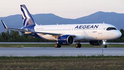 SX-NEA - Airbus A320-271N - Aegean Airlines