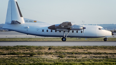 EC-BOC - Fokker F27-600 Friendship - Aviaco