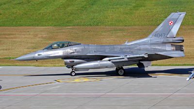 4043 - Lockheed Martin F-16C Fighting Falcon - Poland - Air Force