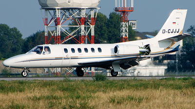 D-CJJJ - Cessna 550 Citation II - Private