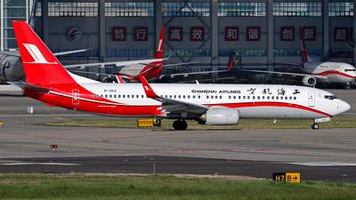 B-1262 - Boeing 737-89P - Shanghai Airlines