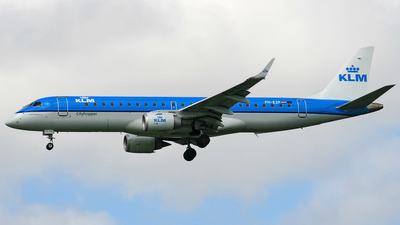 PH-EZP - Embraer 190-100STD - KLM Cityhopper