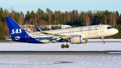 A picture of SEROK - Airbus A320251N - SAS - © Laszlo Fekete