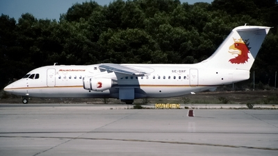SE-DRF - British Aerospace BAe 146-200A - Malmö Aviation