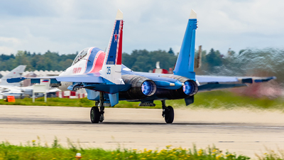 RF-81706 - Sukhoi Su-30SM - Russia - Air Force