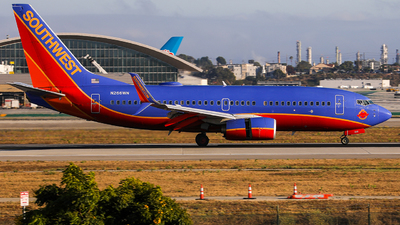 A picture of N266WN - Boeing 7377H4 - Southwest Airlines - © KenKen Huang
