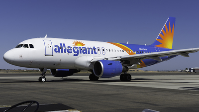 A picture of N335NV - Airbus A319111 - Allegiant Air - © Taylor Kim