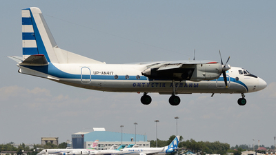 UP-AN417 - Antonov An-24RV - Southern Sky