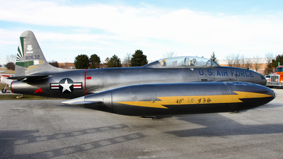 58-0632 - Lockheed T-33A Shooting Star - United States - US Air Force (USAF)