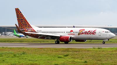 PK-LZW - Boeing 737-8GP - Batik Air