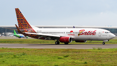 A picture of PKLZW - Boeing 7378GP - Batik Air - © Ravinsa adikara