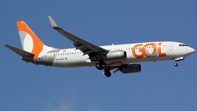 A picture of PRGYA - Boeing 7378EH - GOL Linhas Aereas - © TLBorges
