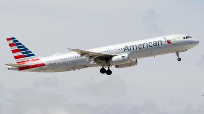 N523UW - Airbus A321-231 - American Airlines