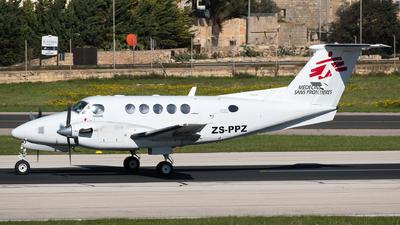 ZS-PPZ - Beechcraft 200 Super King Air - Orange Aircraft Leasing