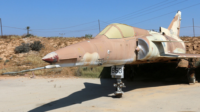 853 - IAI Kfir C2 - Israel - Air Force