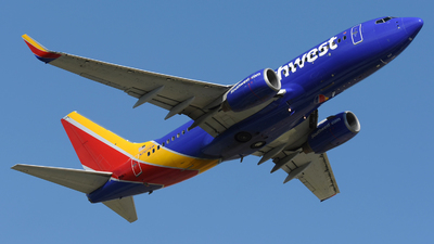 A picture of N767SW - Boeing 7377H4 - Southwest Airlines - © DJ Reed - OPShots Photo Team