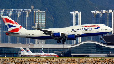 G-BNLG - Boeing 747-436 - British Airways