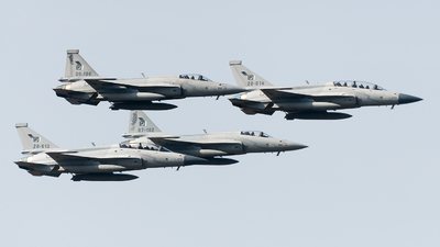 20-613 - Chengdu JF-17B Thunder - Pakistan - Air Force