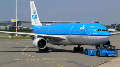 A picture of PHAKF - Airbus A330303 - KLM - © M. Raykahn Ariga