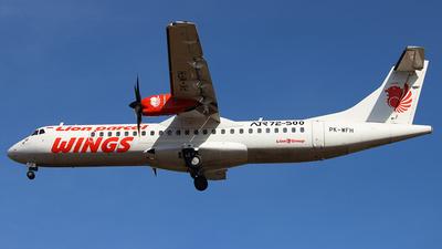 PK-WFH - ATR 72-212A(500) - Wings Air