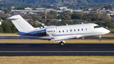N651LS - Bombardier CL-600-2B16 Challenger 604 - Private
