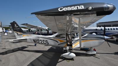 A picture of N122CS - Cessna 182T Skylane - [18282414] - © Mirko Bleuer