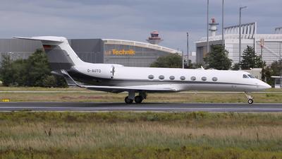 D-AUTO - Gulfstream G550 - BMW Flugdienst