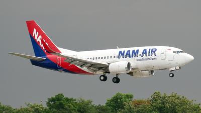 PK-NAT - Boeing 737-524 - NAM Air