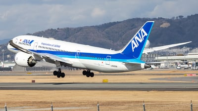 A picture of JA809A - Boeing 7878 Dreamliner - All Nippon Airways - © LUSU