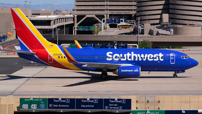 N7859B - Boeing 737-7Q8 - Southwest Airlines