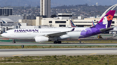N392HA - Airbus A330-243 - Hawaiian Airlines