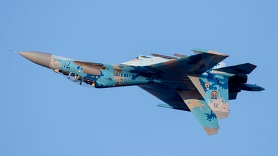 71 - Sukhoi Su-27UB Flanker C - Ukraine - Air Force