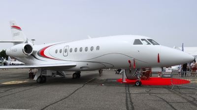 F-HHDV - Dassault Falcon 2000S - Private