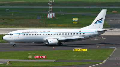 YI-AQS - Boeing 737-48E - Al Naser Airlines