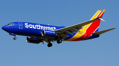 A picture of N7862A - Boeing 73779P - Southwest Airlines - © Conor Clancy