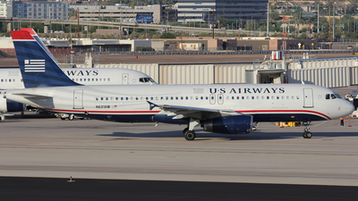 N631AW - Airbus A320-231 - US Airways