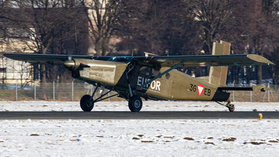 3G-EB - Pilatus PC-6/B2-H2 Turbo Porter - Austria - Air Force